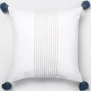 New Hearth & Hand Tassel Throw Pillow